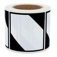 Gefahrgutetiketten, LQ, Polyethylen, weiß-schwarz, 100 x 100 mm, 500 Etiketten