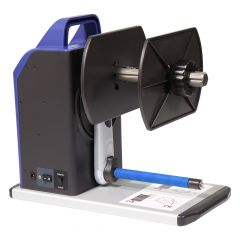 """Godex, external rewinder, T20, inside-/ outside winding on 1"""", 1,5"""" or 3"""" core, material width max. 178 mm, roll outside-Ø: max. 152,4 mm"""