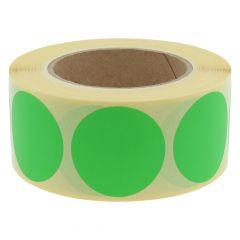 Papier, grün, ablösbar, Ø 50 mm, 3 Zoll Rollenkern, 1000 Klebepunkte auf 1 Rolle(n)