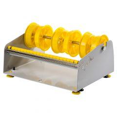 Tisch/Wand Etikettenspender, Labelident ALB-1016, Metall, grau, Rollenbreite max.: 265 mm