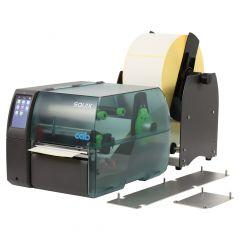 CAB SQUIX 6.3 Etikettendrucker-Set, 300 dpi, Basisgerät mit Abreißkante