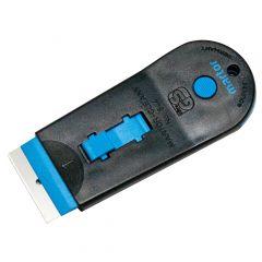 Martor plastic label scraper with retractable blade