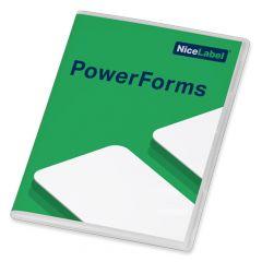NiceLabel 2019 PowerForms, Einzelplatzlizenz, 1 Benutzer, Softkey