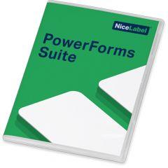 NiceLabel 2019 PowerForms Suite, Mehrplatzlizenz, 10 Drucker, Softkey