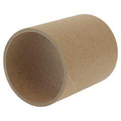 Hartpapier Rollenkerne für Etiketten, Ø 3 Zoll (76,2 mm), Wandstärke 3 mm, Breite 90 mm
