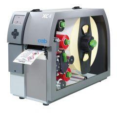 CAB XC4, 300 dpi Etikettendrucker (Industrie), LCD Display, Modell mit Abreißkante (5965700)