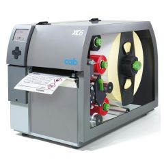 CAB XC6, 300 dpi Etikettendrucker (Industrie), LCD Display, Modell mit Abreißkante (5965701)