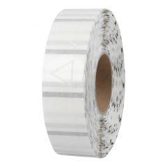 palpable hazard warning signs, PE foil, permanent, Ø 30 mm, 50 mm core diameter