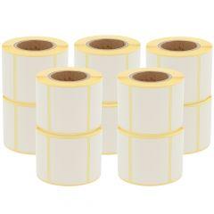 Thermoetiketten Eco, permanent, 50 x 40 mm, 1,57 Zoll (40 mm) Rollenkern, 14400 Etiketten, 36 Rolle(n)