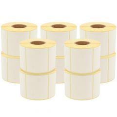 Thermoetiketten Eco, permanent, 60 x 62 mm, 1,57 Zoll (40 mm) Rollenkern, 20400 Etiketten, 24 Rolle(n)