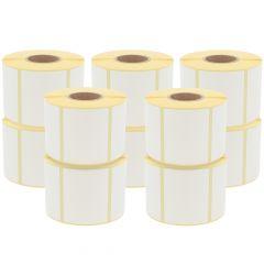 Thermoetiketten Eco, permanent, 68 x 55 mm, 1,57 Zoll (40 mm) Rollenkern, 8500 Etiketten, 10 Rolle(n)