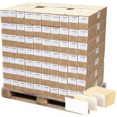 Thermoetiketten Eco, weiß, permanent klebend, Trägerperforation, 103 x 150 mm, 322000 Falzetiketten in 161 Packung(en)