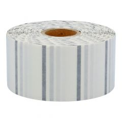 polyester labels, transparent, permanent, 50.8 x 25.4 mm, 1 inch (25.4 mm) core diameter, 2580 labels on 1 roll(s)