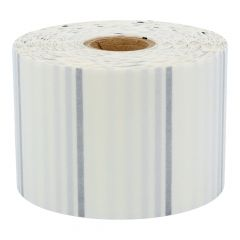 polyester labels, transparent, permanent, 60 x 34 mm, 1 inch (25.4 mm) core diameter, 2500 labels on 2 roll(s)