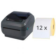 Zebra GK420d Etikettendrucker-Set, 203 dpi, Basisgerät mit Abreißkante