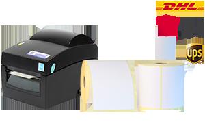 Versandetikettendrucker Sets