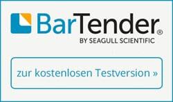 Bartender Etikettensoftware als kostenfreie Testversion
