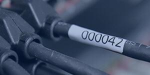 Bogenetiketten für Kabel und Leitungen