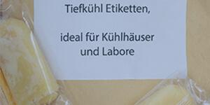 Passende Blattetiketten für Tiefkühlware