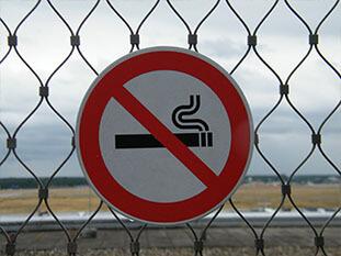 Rauchen verboten Schild