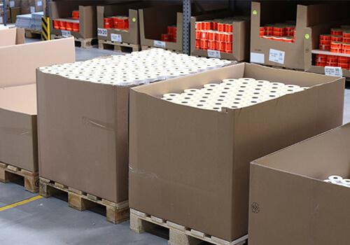 Etikettenhersteller für große Auftragsvolumen